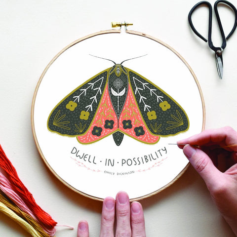 Dwell In Possibility Embroidery Sampler