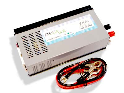 POWERVOLT - 300 Watt 24 Vdc True Sine Inverter