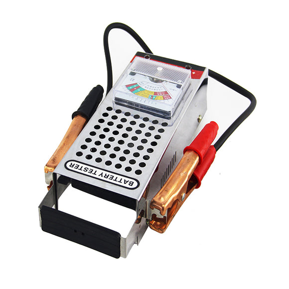 Battery Load Tester - Stainless Steel Cover