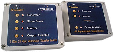 Latronic AC Transfer switch 2 Way