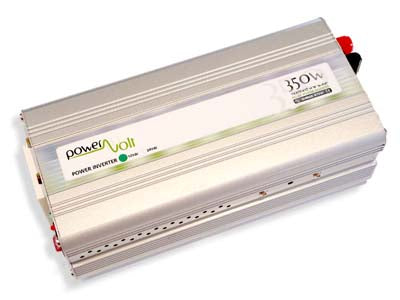 POWERVOLT - 350 Watt 12 Vdc Inverter