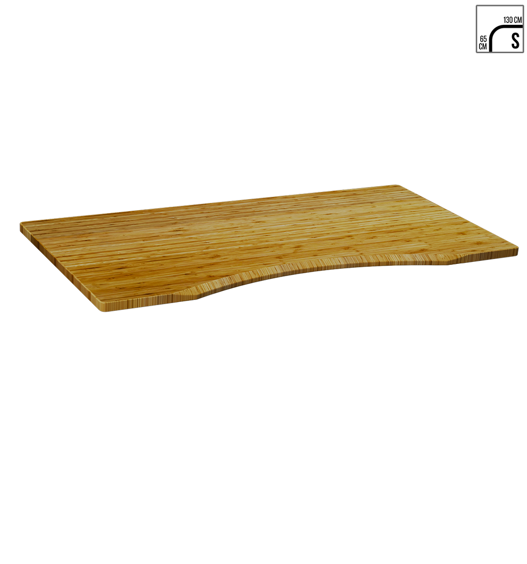 Standard Curve Carbonised Bamboo (130 x 65cm)