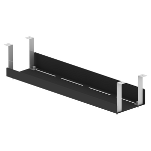 Cable Management Tray - Black
