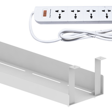 Load image into Gallery viewer, Cable Tray with Extension - White