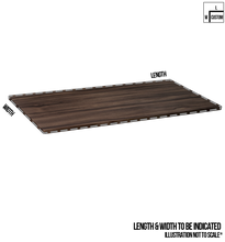 Load image into Gallery viewer, Customised Table Top - Marinus Walnut