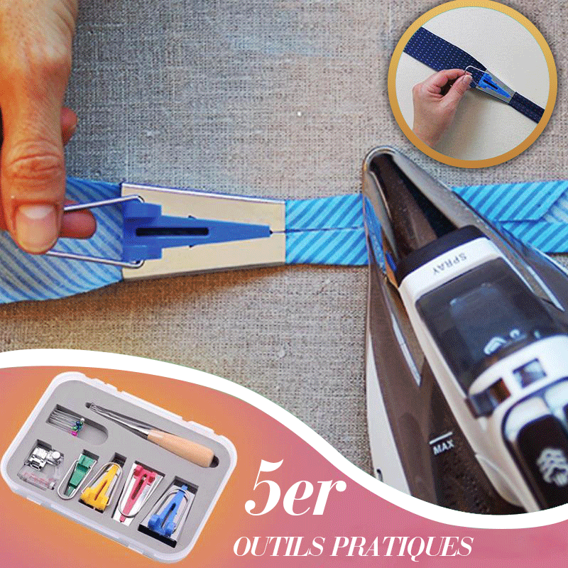 Bias Tape Maker Kit