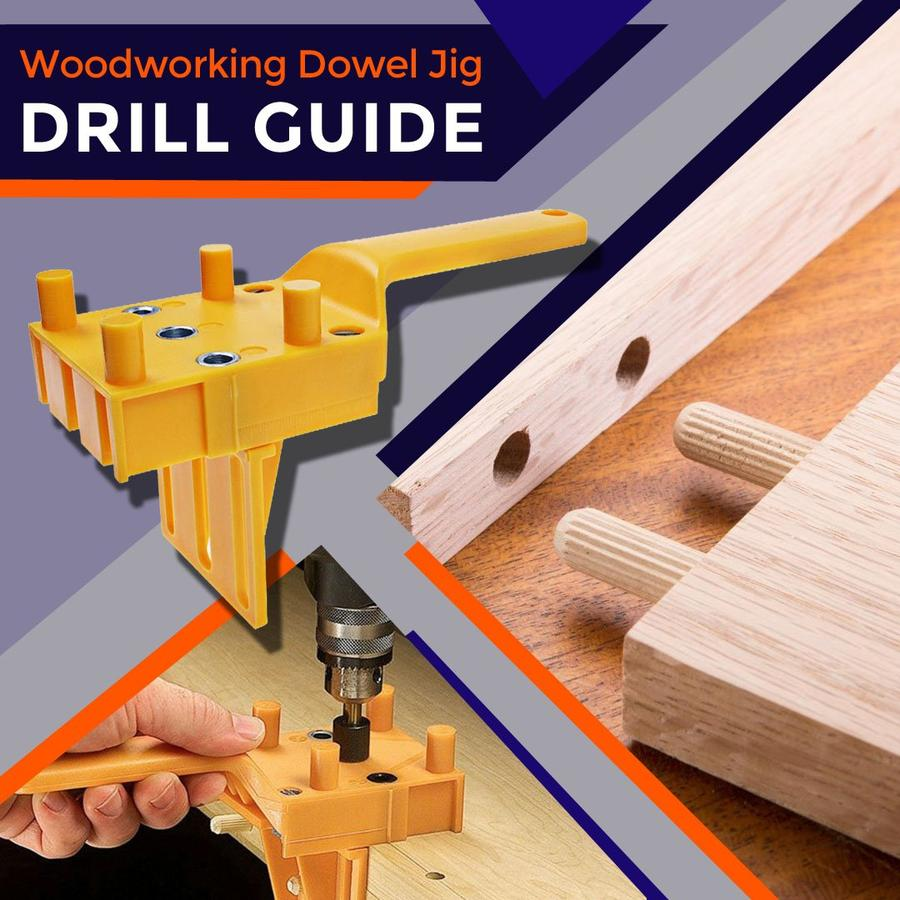 EasyDrill™ Woodworking Dowel Jig Set