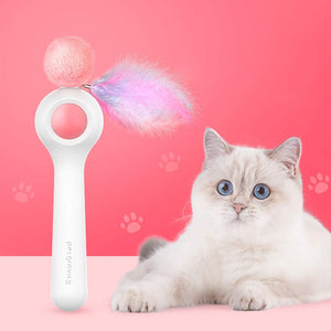 Interactive Cat Teaser Wand