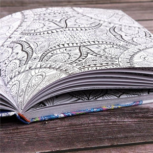 Mandala Relaxing Colouring Book