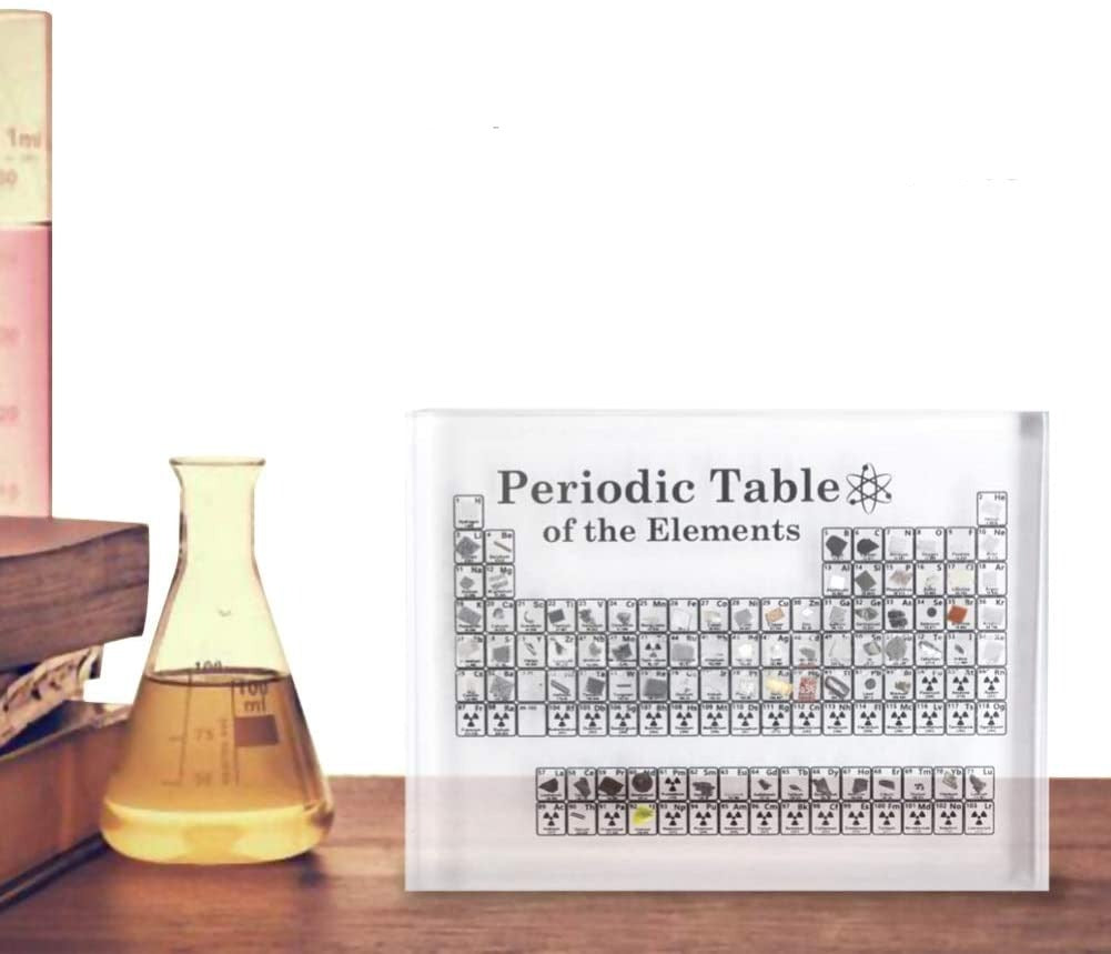 Periodic Table with REAL Elements