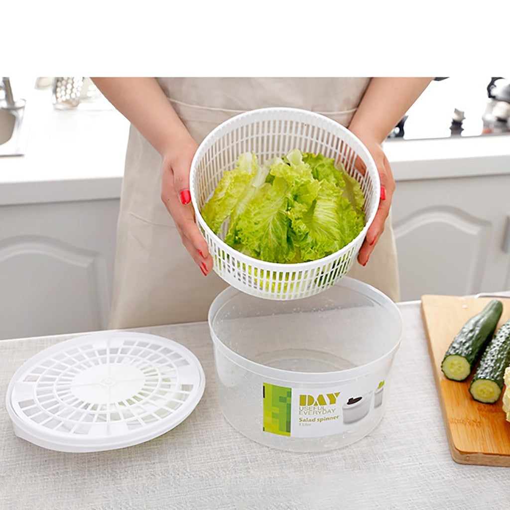 Wash and Dry Vegetables
