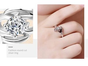 Jewelry Inlaid 2-in-1 Index Finger Ring Hand Ornament