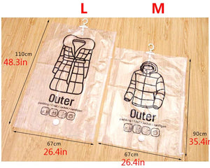 Compression Hanging Clothes Bag