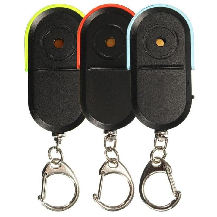 Whistle Controlled Anti Lost Keychain