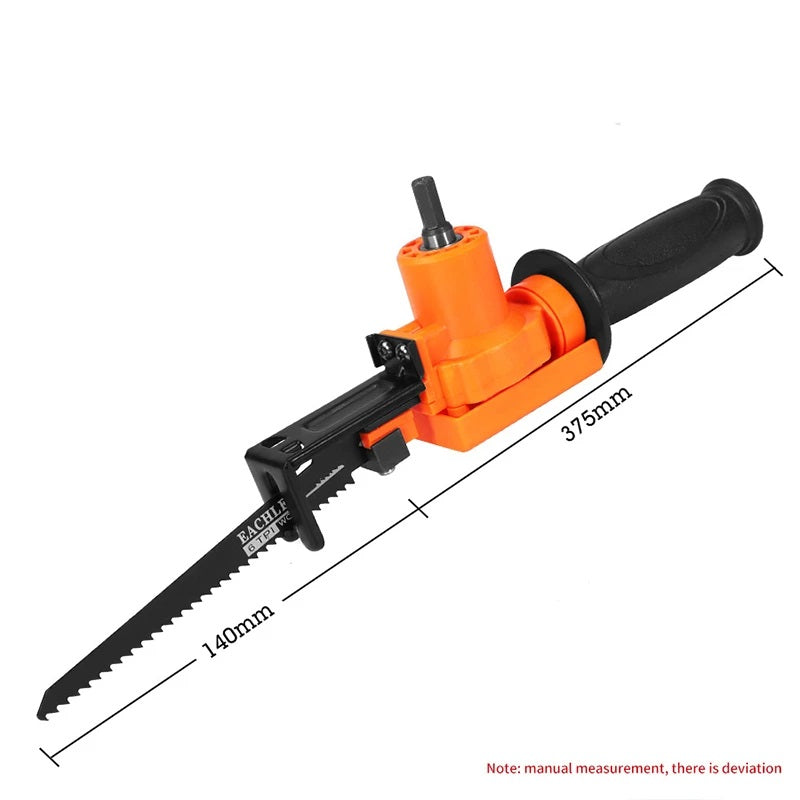 Blade Runnerr™ Reciprocating Saw Drill Attachment Set [FREE 5PCS SHARPENING RODS]