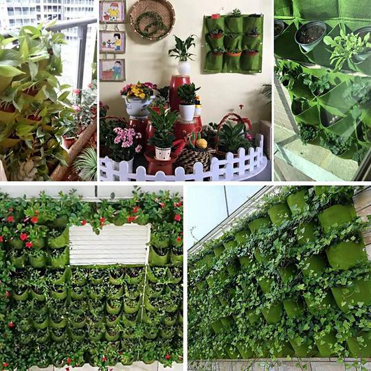 GEO PRO™ Vertical Wall Planter Bag