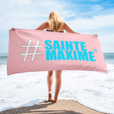 Serviette Rose #SAINTEMAXIME
