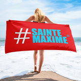 Serviette Rouge #SAINTEMAXIME