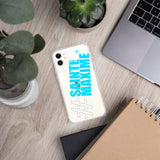 Coque pour iPhone #SAINTEMAXIME