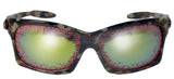 CAMOFLAUED BLOOD SHOT EYES SUNGLASSES (sold by the piece or dozen ) CLOSEOUT NOW ONLY $1.00 EACH
