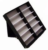 12 PAIR BLACK COVER SUNGLASS COUNTER TRAY (Sold by the piece)