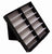 12 PAIR BLACK COVER SUNGLASS COUNTER TRAY (Sold by the piece) *- CLOSEOUT $ 9.50 EA