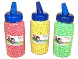LARGE BOTTLED PLASTIC AIR SOFT BB'S FOR GUNS 2000 COUNT (Sold by the piece) -* CLOSEOUT $2 EACH
