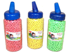 LARGE BOTTLED PLASTIC AIR SOFT BB'S FOR GUNS 2000 COUNT (Sold by the piece) -* CLOSEOUT 2.50 EACH
