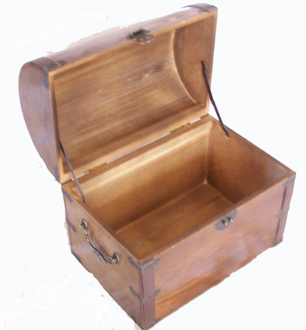 ... LARGE WOODEN TREASURE / PIRATE CHEST STORAGE BOX #301 ( sold by the piece )  sc 1 st  Novelties Company & LARGE WOODEN TREASURE / PIRATE CHEST STORAGE BOX #301 ( sold by the ...