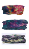 TWISTED TIE DYE GALAXY SEAMLESS BANDANNA WRAP HEAD BAND/ SCARF/ BEANIE 1 COLOR LEFT  (sold by the piece or dozen)  ( sold by the piece or dozen )