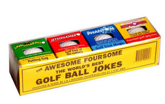 AWESOME 4 PACK TRICK GOLF BALLS ( sold by the pack of 4 balls )