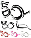 FIFTY 50'S PARTY GLASSES (Sold by the piece or dozen )