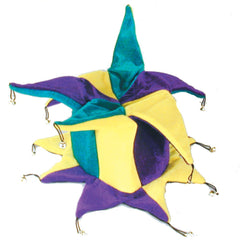 JESTER / CRAZY PLUSH CARNIVAL HAT (Sold by the piece) -* CLOSEOUT $2.50 EA