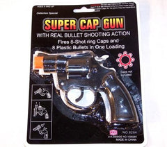 8 SHOT CAP GUNS 38 SPECIAL PLASTIC (Sold by the piece)