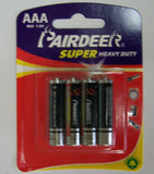 AAA BATTERIES (Sold by the dozen batteries ) closeout $ 1 dozen