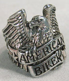 AMERICAN BIKER EAGLE BIKER RING (Sold by the piece)