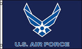 HEAVY NYLON AIR FORCE WINGS MILITARY  3' X 5' FLAG (Sold by the piece)