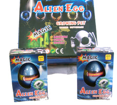 HATCHING & GROWING MAGIC ALIEN EGGS (Sold by the piece or dozen)