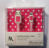 APPLE X IPHONE5 6 SYNC OR CHARGE CABLE ( sold by the piece )