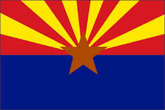 ARIZONA 3' X 5' FLAG (Sold by the piece)