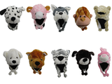 ASSORTED STYLE PLUSH ANIMAL HATS (Sold by the dozen)