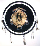 BEAR DREAM CATCHER JUMBO WAR SHIELD (Sold by the piece)