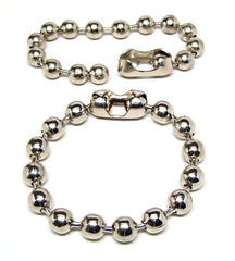 EXTRA LARGE BALL CHAIN BRACELETS (Sold by the piece or dozen )