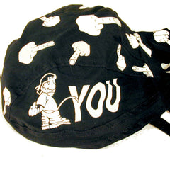 PISS ON YOU BANDANNA CAPS (Sold by the piece) -* CLOSEOUT NOW $ 1 EA