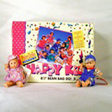HAPPY KID BEANIE 8 INCH DOLLS (Sold by the PIECE OR dozen) -* CLOSEOUT $1.00 EA