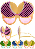 BIKINI TOP PARTY GLASSES (Sold by the piece or dozen )- *- CLOSEOUT NOW $ 1.50 EA