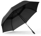 BLACK 39 INCH GOLF UMBRELLAS (Sold by the PIECE OR dozen)