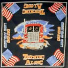 TRUCK TRUCKING ALONG BANDANA (Sold by the piece or dozen)
