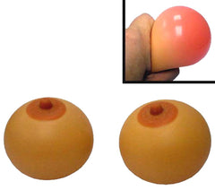 BOOBY STRESS boob BALLS (Sold by the dozen) *- CLOSEOUT $1.50 EA