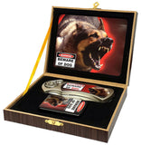 BEWARE OF DOG WITH OIL LIGHTER BOXED KNIFE (Sold by the piece)